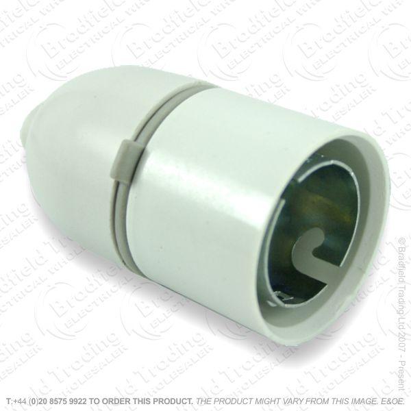 B08) Lamp Holder Cordgrip T2 white BG 720
