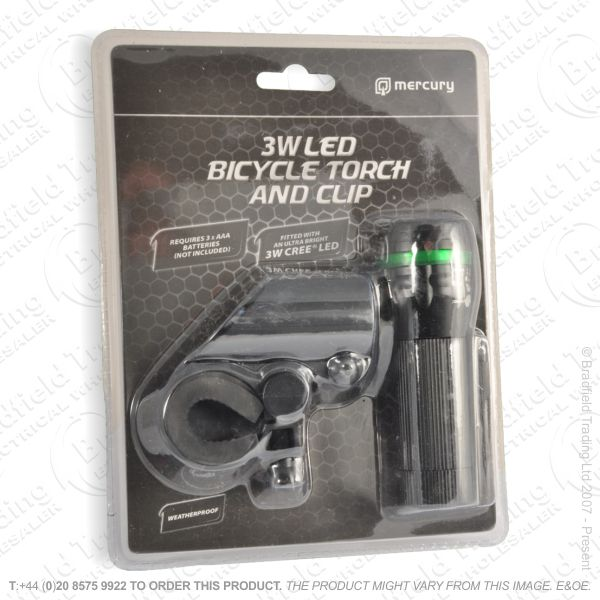 G56) Bicycle LED Front Light 3W CREE