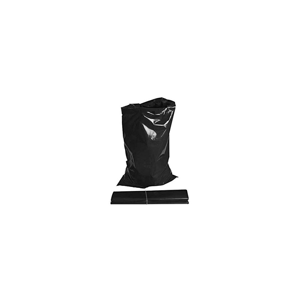 100pc Heavy Duty Rubble Bags Black
