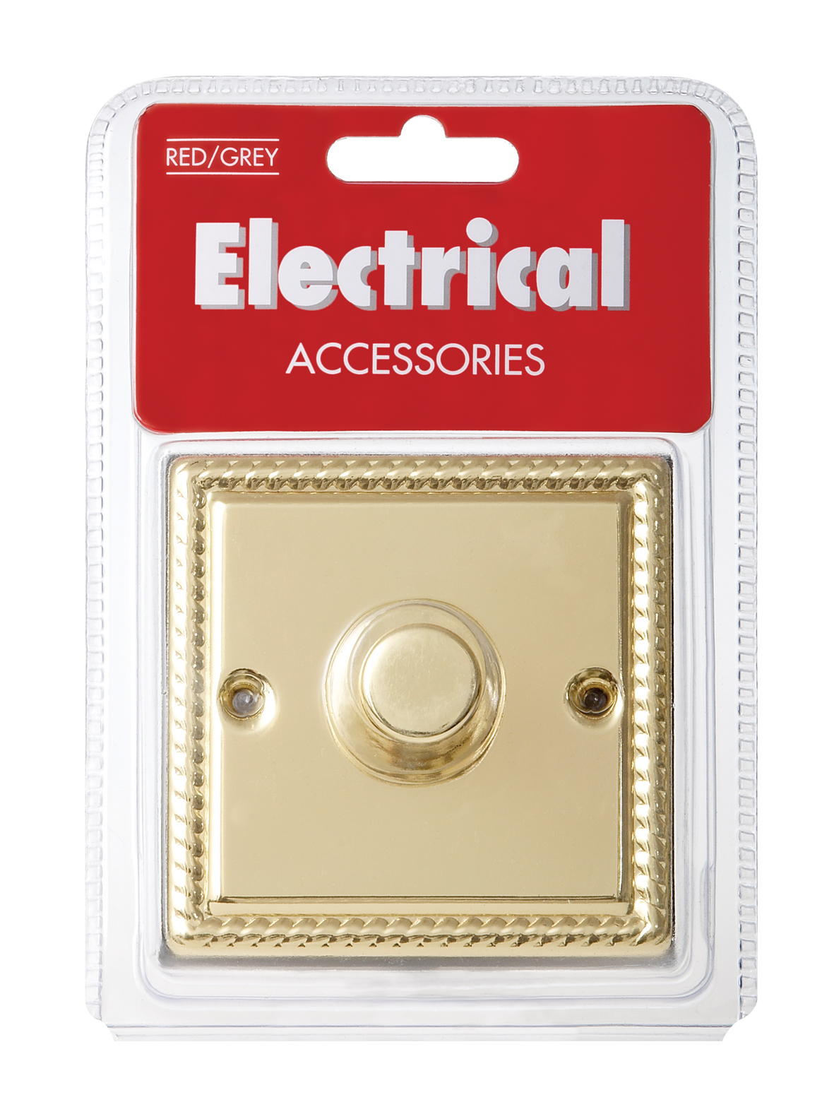Dimmer 1G 2W 400w Push Geo Brass ECO