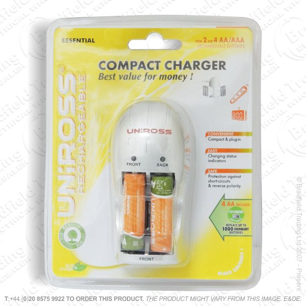E11) Compact Battery Charger UNIROSS