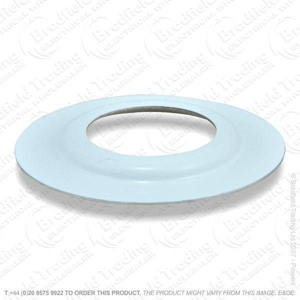B07) Lamp Holder Shade Reducer white LILLEY