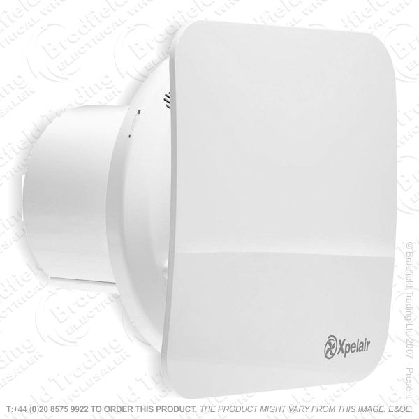 Xpelair Square Simply Silent Timer Fan