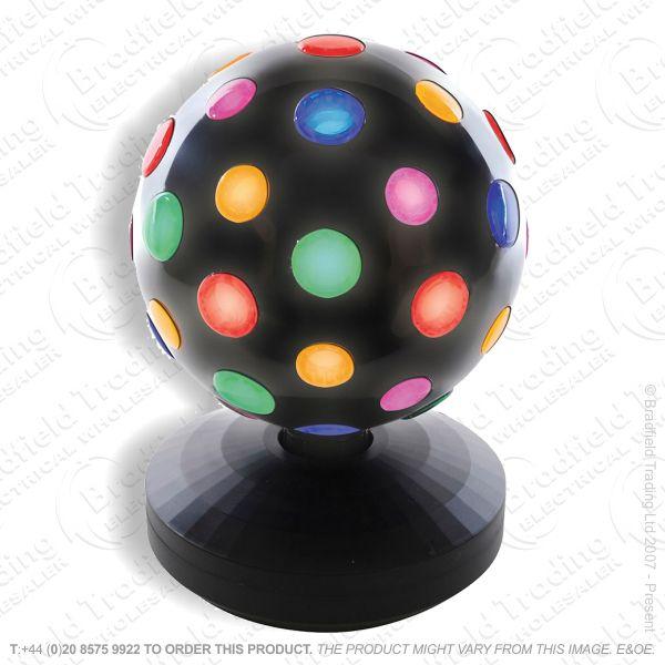 D12) 200mm Disco Ball Rotating LLO