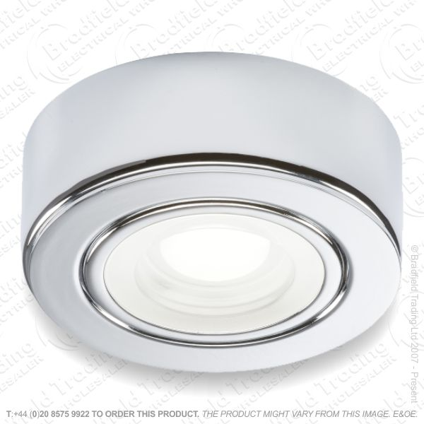 Cabinet Fitting LED 240v 2w 4k Chro MLA