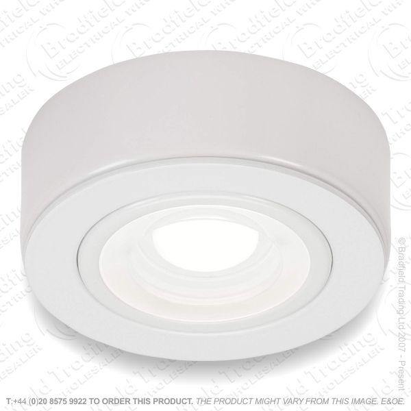 Cabinet Fitting LED 240v 2w 3k White MLA