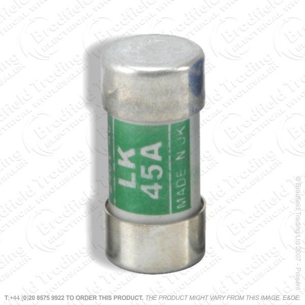 F13) Fuses 45A Carthridge 35x16.7mm BS1361