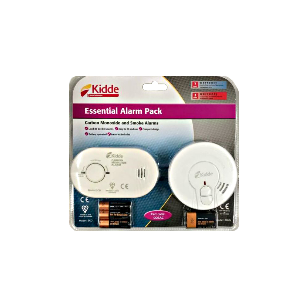 Smoke   Carbon Mono Alarms KIDDIE