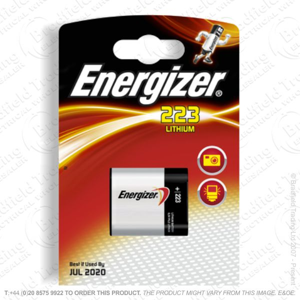 E08) Battery Camera CRP2P 6V Energizer