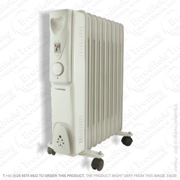 D02) Heater Oil Radiator 2.5Kw 11F Stat