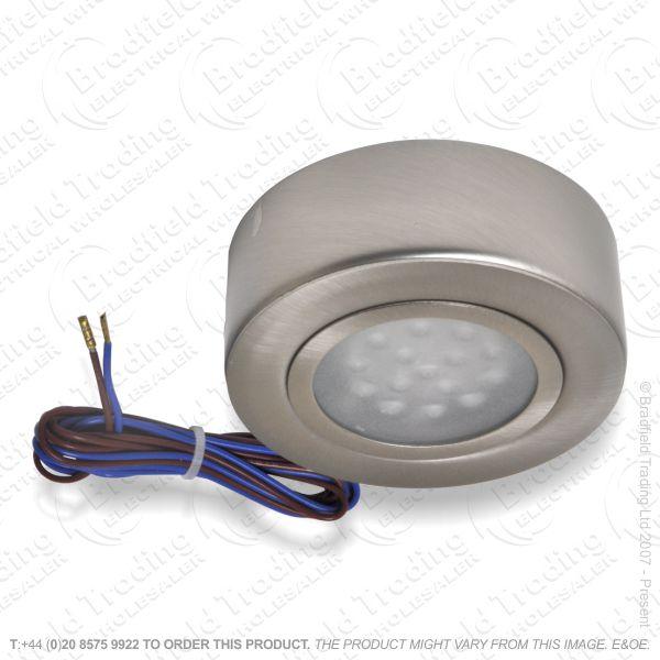 B26) Downlight LED Cabinet Satinchrome