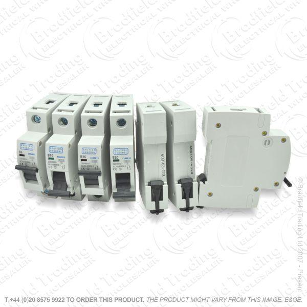 H29) Consumer Breaker MCB SP 16A 6KA BG