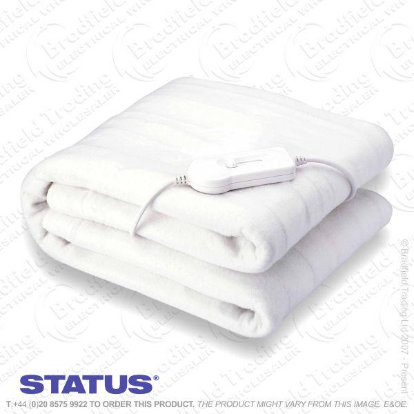 C09) Double Size Electric Blanket STATUS