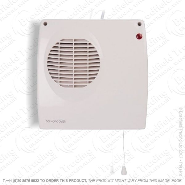 D02) Heater Bathroom 2Kw HYCO Pullcord