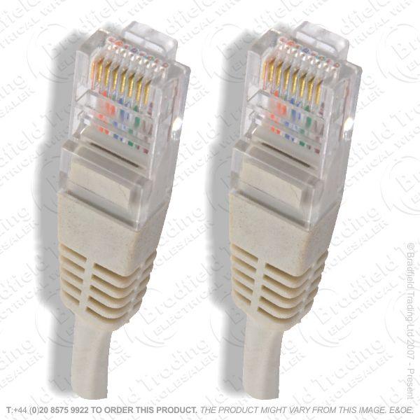E17) RJ45-RJ45 p-p CAT5E Cable 1M