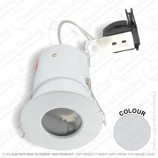B29) Downlight Fixed MR11 f/rated IP65 PC