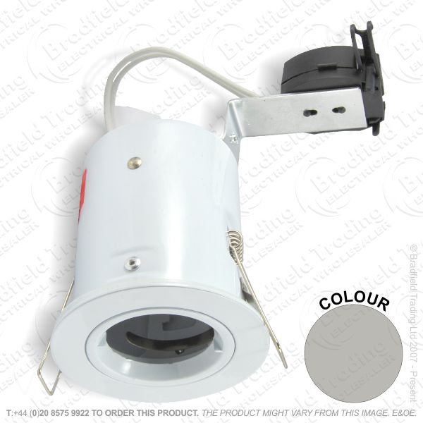 B29) Downlight Fire MR16 LR Fixed satinnickel