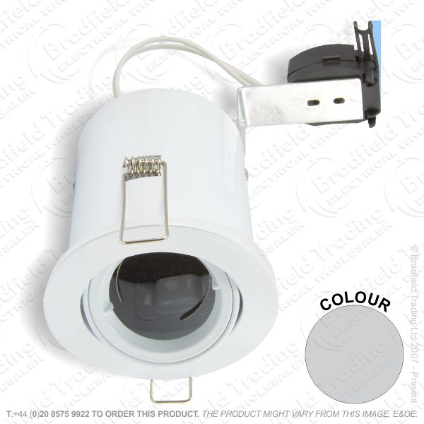 B29) Downlight Fire MR16 LR Tilt satinsilver