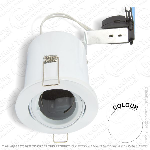 B29) Downlight Fire MR16 LR Tilt white