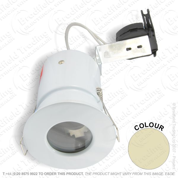 B29) Downlight Fire MR16 Fixed polishbra