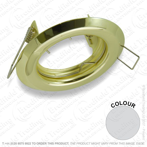 B33) Downlight Fixed GU10 Polished chrome