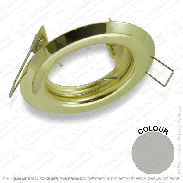 B33) Downlight Fixed GU10 SatinNickel