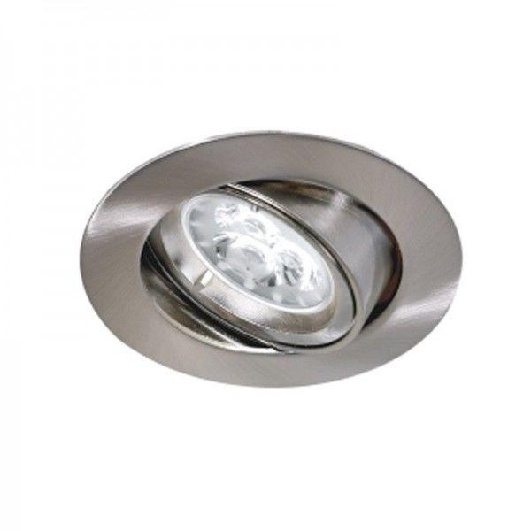 B33) Downlight Adjust  GU10 Satin Nickel