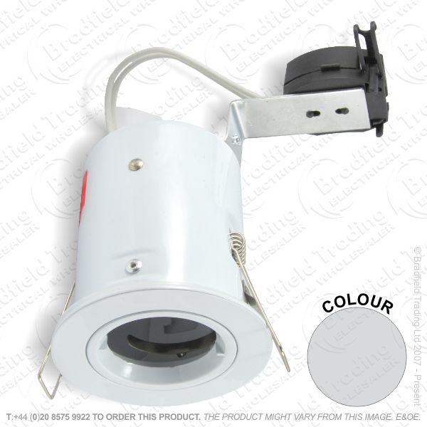 B30) Downlight Fire GU10 Fixed PC Aur