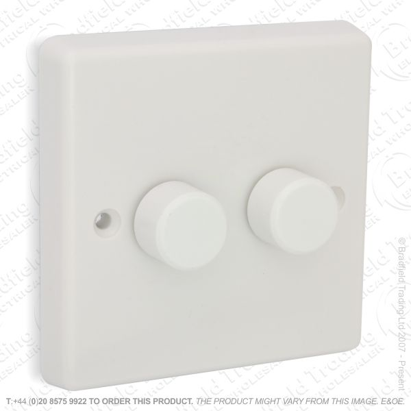 I26) Dimmer Push HQ83 2G 400W VARILIGHT