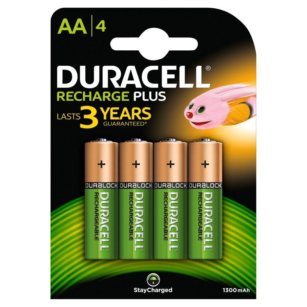 Battery Rech AA 1.2V 1300mAH DURAC