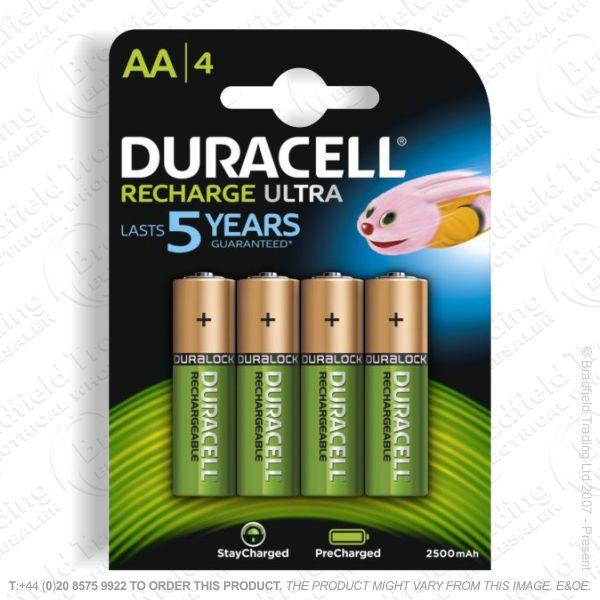 E10) Battery Rech AA 1.2V 2500mAH DURAC