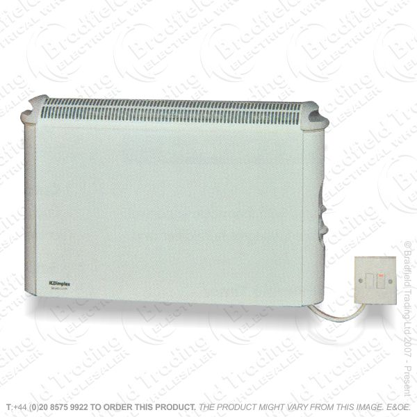 D02) Heater Convector 2Kw Stat Wall onlyDIM