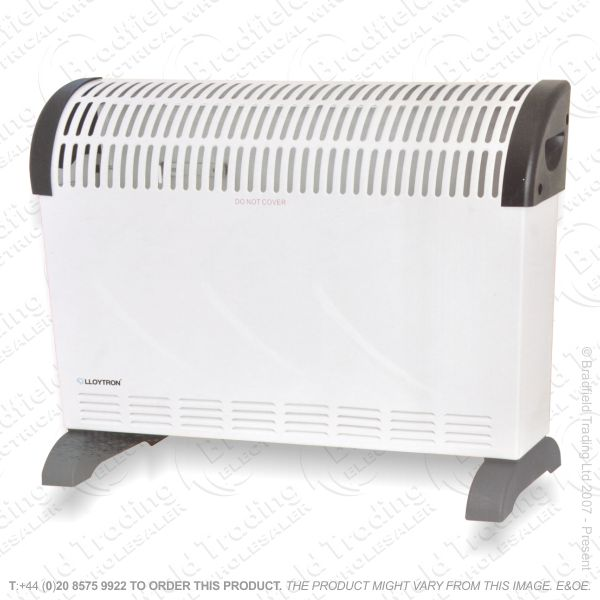 D02) Heater Convector 2Kw Stat Timer DIM