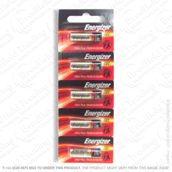 E07) Battery Car Remote MN27 Pk5 12V GP