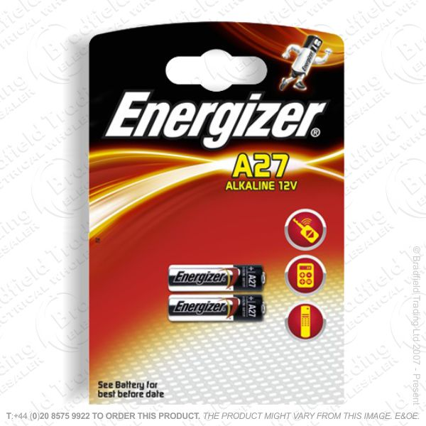 E07) Battery Car Remote MN27 Twin Pack 12V EN