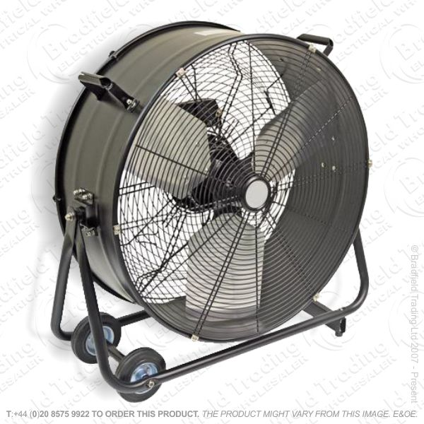 D07) Drum Fan 24  High Velocity HD