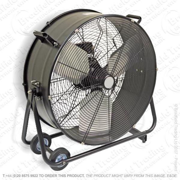 D07) Drum Fan 24  High Velocity HD