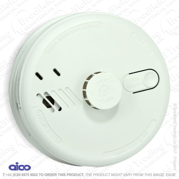 I05) Mains Smoke Alarm Heat AICO