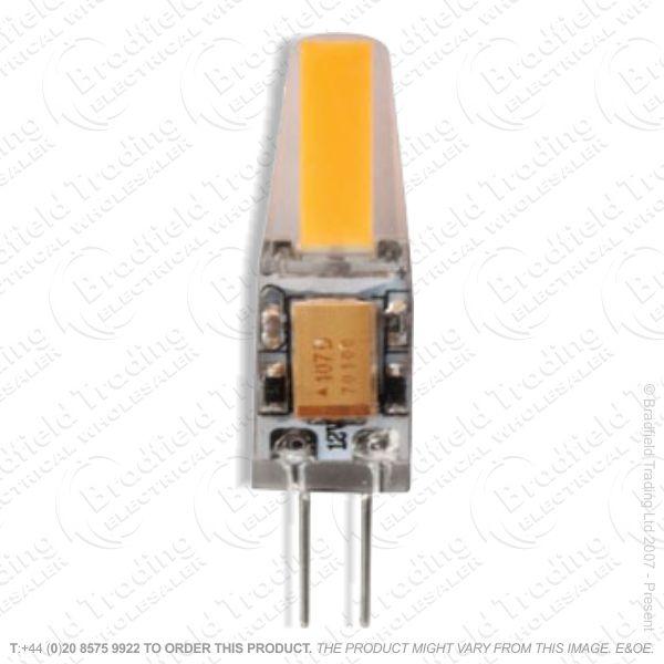 A45) 2W G4 LED Capsule 3k Pk2 ENVIROLIGHT