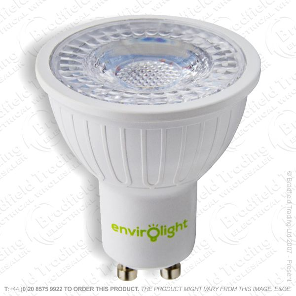 A39) 5W LED GU10 4k Cool ENVIROLIGHT