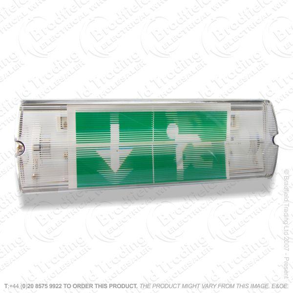 B18) Fitting Bulkhead LED M3 Nonm/Main INTEGR