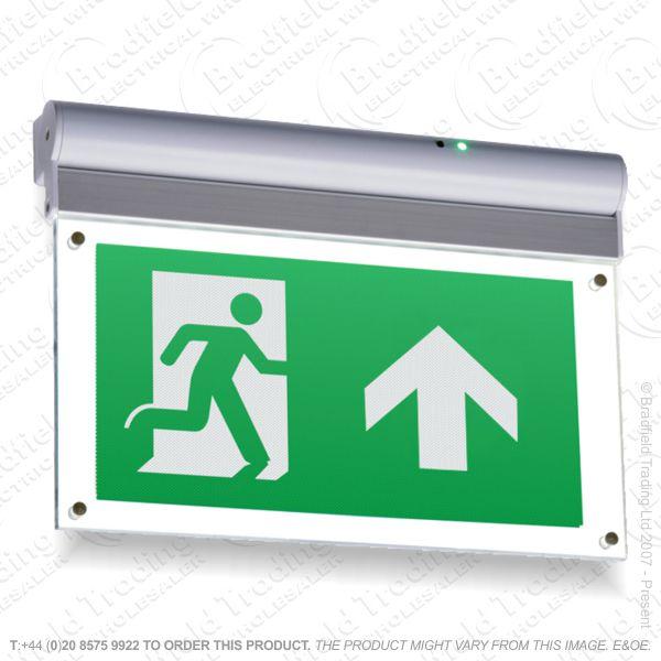 B18) Fitting LED Emergency Exit Down KNISBRID