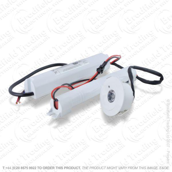 B17) Emergency LED Downlight 3W Non/Main