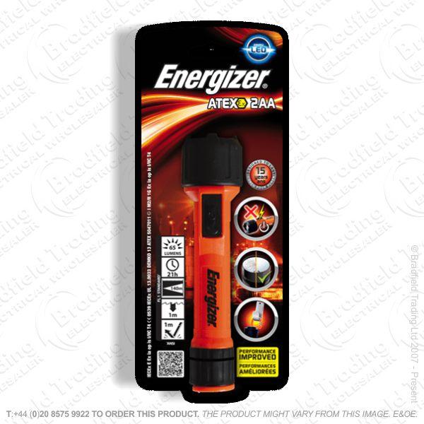 E41) Atex 2xAA Torch ENERGIZER