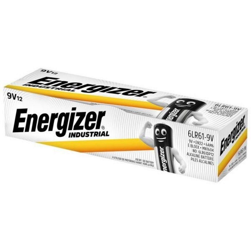 Battery 9V Industrial (10) ENERGIZER