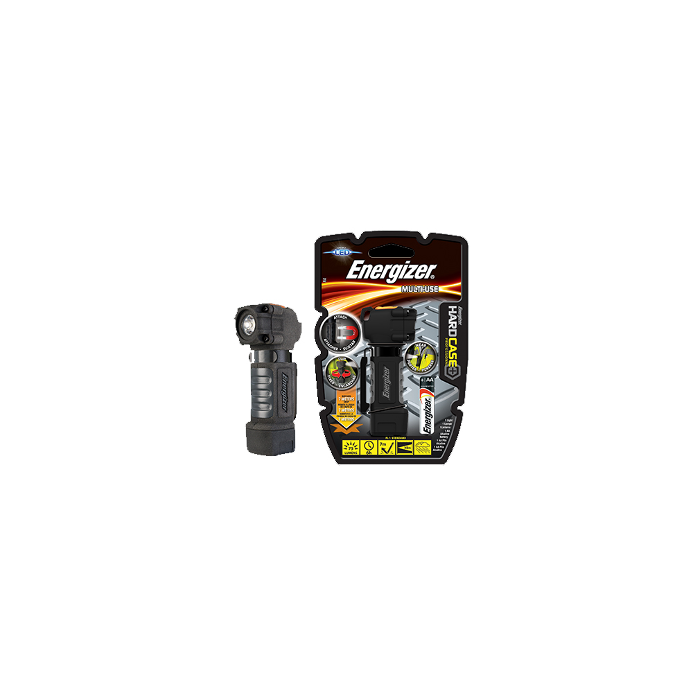 Torch Hard Case Multi Use 1xAA 75lm ENERGIZER