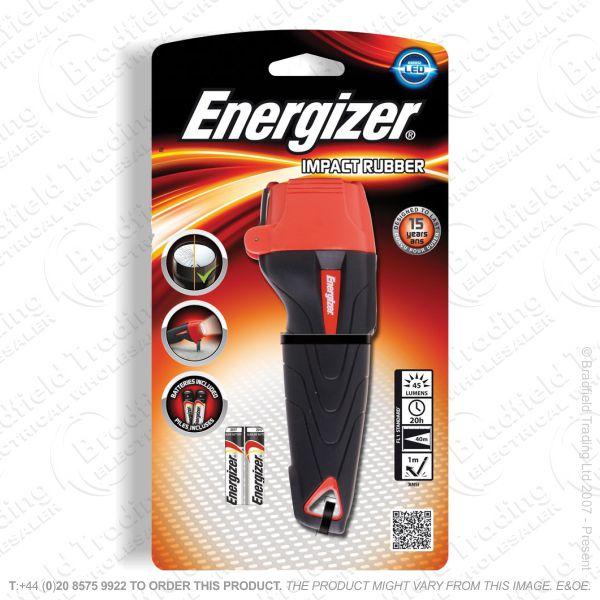 E42) LED Flashlight 2xAAA Impact ENER