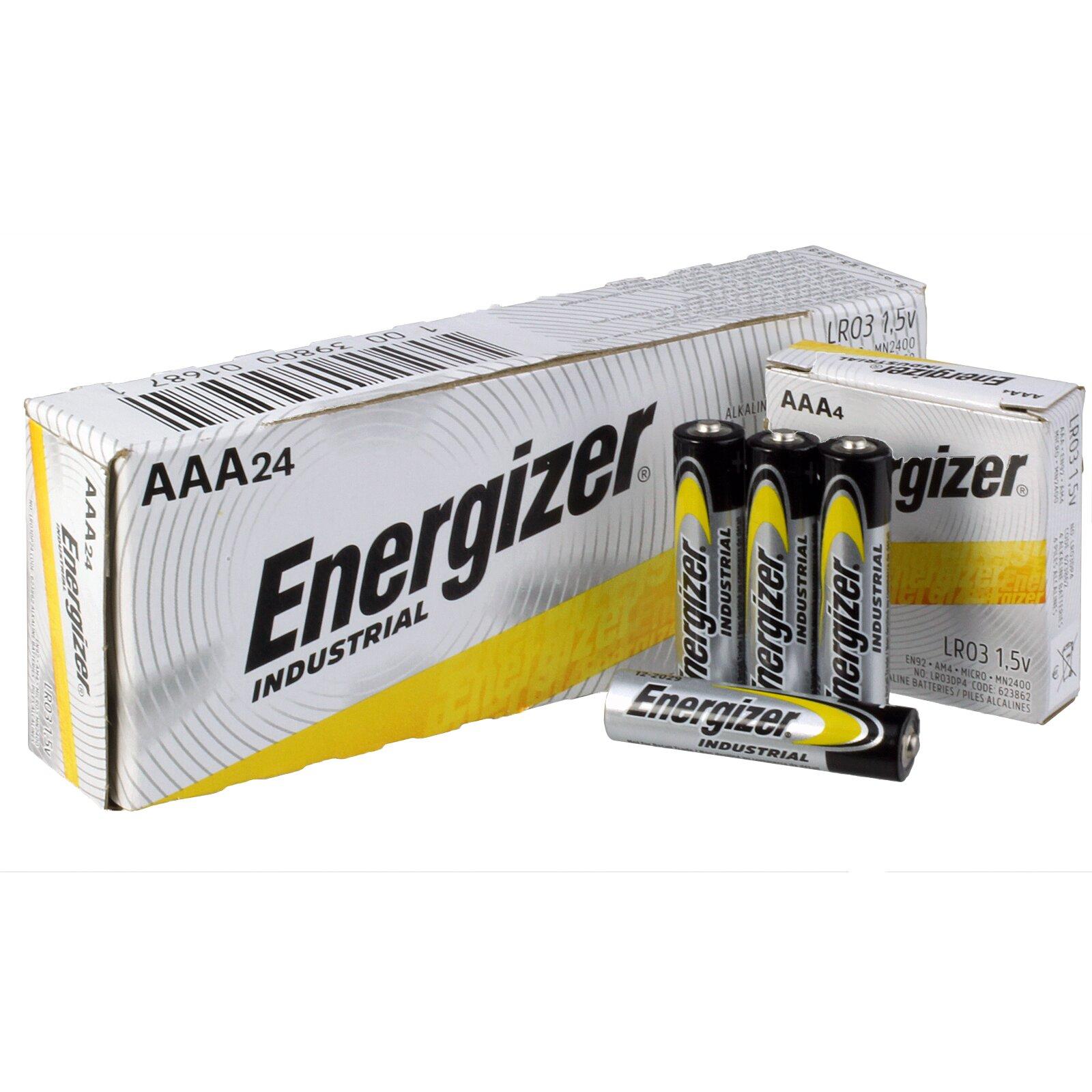 Battery AAA Industrial (10) ENERGIZER