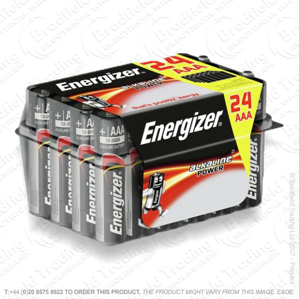 E05) Battery AAA Alka Family Pack Box (24) EN