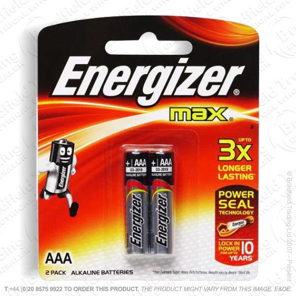 E05) Battery AAA 1.5v Ultr Plus (2) ENERG